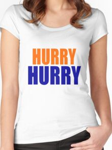HURRY HURRY!  (Denver Broncos, Peyton Manning) Women's Fitted Scoop T-Shirt