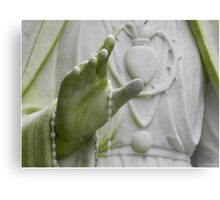 Mary and moss Canvas Print