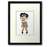 GQ Darren Criss Framed Print