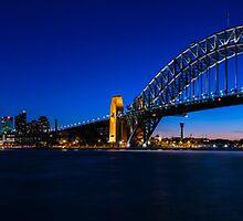 Sydney Skyline Panorama by Michael Clarke