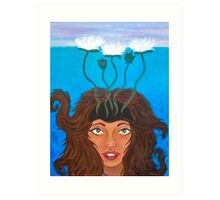 awakening at last (2013) Art Print