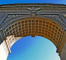 NYC - Washington Square Park Arch by Kevin Durst
