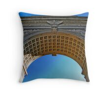 NYC - Washington Square Park Arch Throw Pillow