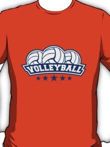 Volleyball Sport Logo T-Shirt