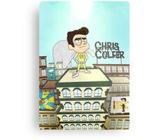 Chris Colfer Canvas Print