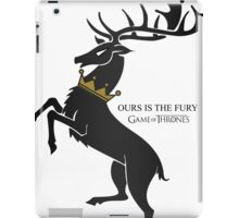 Crown deer iPad Case/Skin