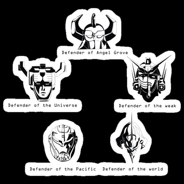 Defenders by oneshortbuzard