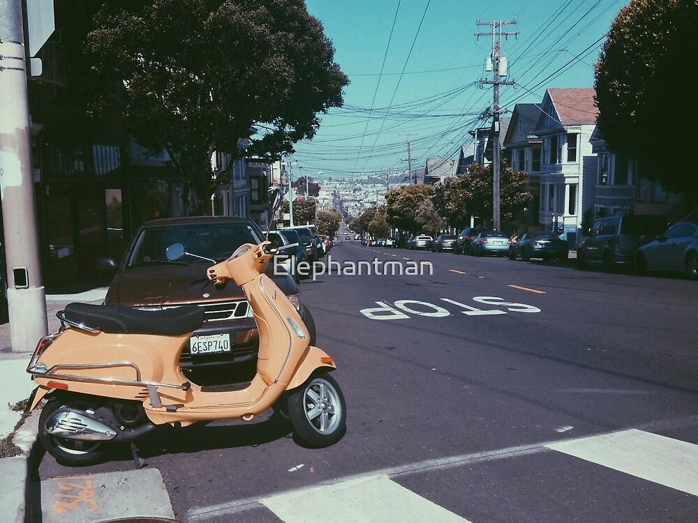 San Francisco by Elephantman