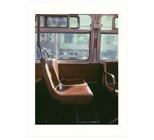 San Francisco Seat Art Print