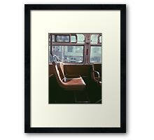 San Francisco Seat Framed Print