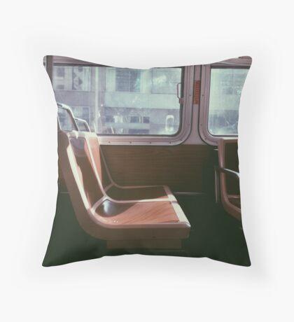 San Francisco Seat Throw Pillow