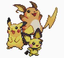 Pikachu Evolutions Kids Clothes