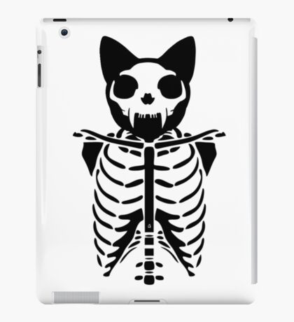 Skeleton cat iPad Case/Skin