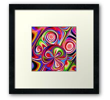 Get into the Groove Framed Print