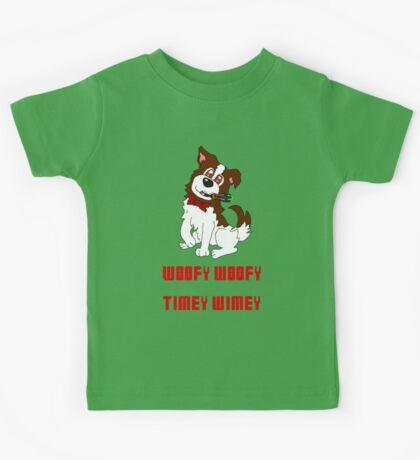 Dogtor Who Kids Tee