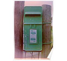 Irish Postbox Poster