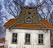 Long Island - East End North Fork Windmill by Kevin Durst