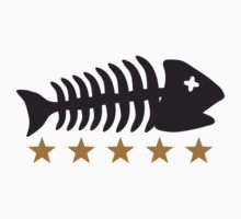 Fishing Fishbone Logo by Style-O-Mat