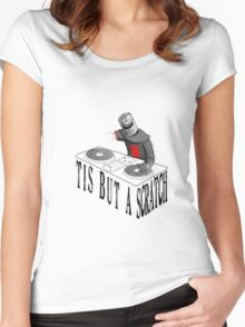 Solaire DJ Women's Fitted Scoop T-Shirt