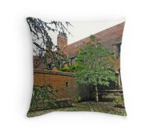 Glitter That Was Once Gold - Falaise Throw Pillow