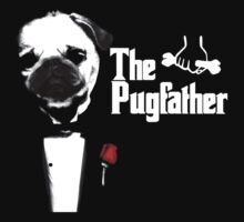 The Pug Father by bungeecow