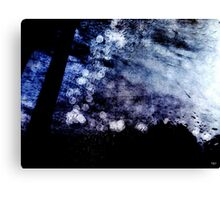 Abstract in Blues XXX Canvas Print