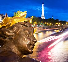 Enchanted Paris Evening by Adrian Alford Photography