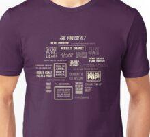 League of Gentlemen - Local Sayings Unisex T-Shirt