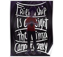 Friendship is a weight the ninja cannot carry Poster