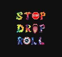 Stop, drop and roll Rainbow Men's Baseball ¾ T-Shirt