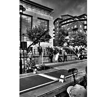 Long Jump #1 Photographic Print