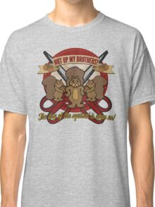 Day of the Squirrel - Sears Squirrel Commercial Parody - Coupon Cutting Squirrels Revolt - Nut Up My Brothers Classic T-Shirt