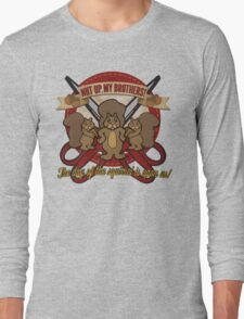 Day of the Squirrel - Sears Squirrel Commercial Parody - Coupon Cutting Squirrels Revolt - Nut Up My Brothers Long Sleeve T-Shirt