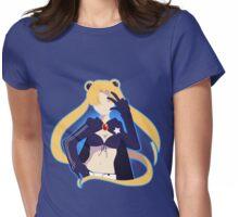 Black Rock Moon Shirt Womens Fitted T-Shirt