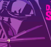Retro Vader street  Sticker