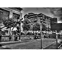 Long Jump #2 Photographic Print