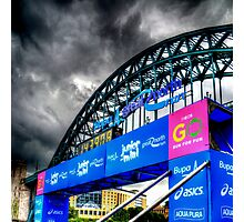 Newcastle-Gateshead CityGames Photographic Print