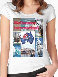 Melbourne International   Women's Fitted Scoop T-Shirt