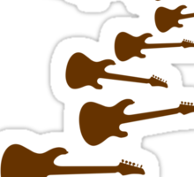The Guitar Bomber Sticker