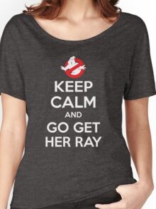 Go Get Her Ray Women's Relaxed Fit T-Shirt