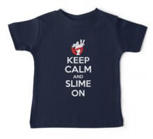 Keep Calm and Slime On Baby Tee