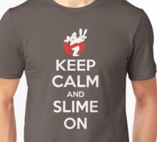 Keep Calm and Slime On Unisex T-Shirt