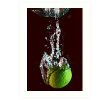 water + lemon 2 Art Print