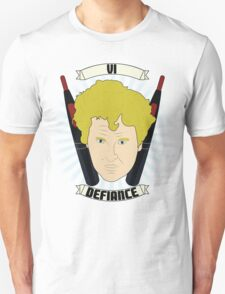 Doctor Who Portraits - Sixth Doctor - Defiance T-Shirt