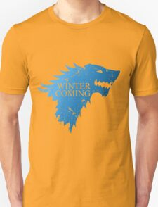 Medieval Restyling winter wolf ice blue T-Shirt