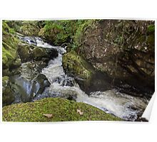 Waterfall at Aira Force Poster