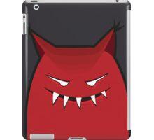 Black Red Devil Art Design  iPad Case/Skin