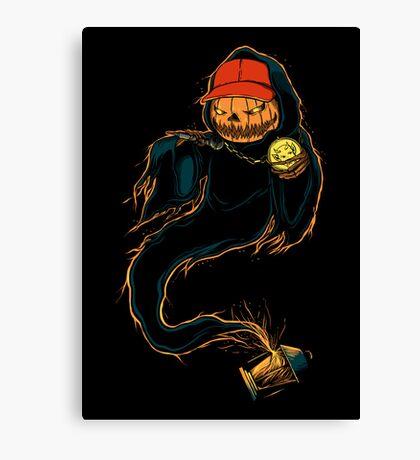 Jack 'O Rapper - Prints, Stickers, iPhone & iPad Cases Canvas Print