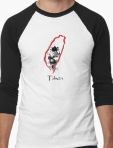 Taiwan Men's Baseball ¾ T-Shirt
