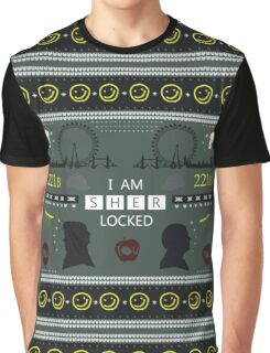 Sherlock Holiday Sweater Graphic T-Shirt